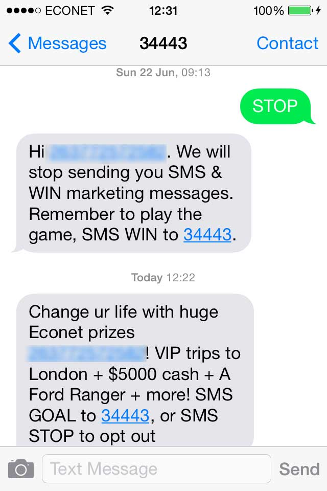 Econet Are Shit